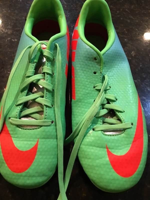 Used blue green and orange nike mercurial cleats for sale in Boca Raton -  letgo 6f73001aa