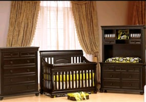 Chocolate Finish CRIB ONLY - BELIZE COLLECTION