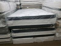 Queen size double sided pillowtop jumbo mattress  College Park