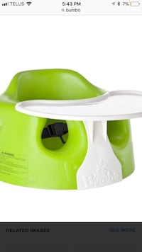 Bumbo with tray Mississauga, L5G 3P5