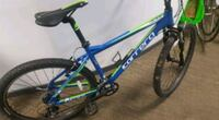 blue and green hardtail mountain bike Todmorden, OL14 5RY