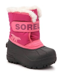 Sorel Snow Commander Boots for Kids - Size 10 Like New Toddler Shoes