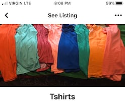 Dry fit T-shirts'