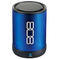 blue and black 808 portable speaker Zion, 60099