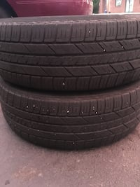 2 tires 225/65r17 DOT 2017 $40 for both good year  Leesburg, 20176
