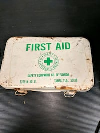 1982 First Aid Kit-unopened boxes Reston, 20191