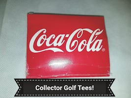 Fore...Coca-Cola Golf Tees, Unopened!