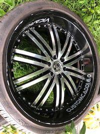 All 5 22 inch rims with tires  Middletown, 10940