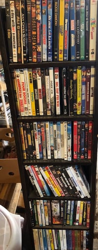 101 dvds and stand Dundee, 97115