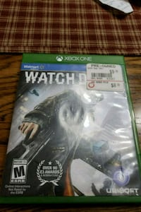 Watch Dogs Xbox One game case Baltimore, 21227