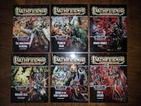 Pathfinder Adventure Path: Wrath of the Righteous - COMPLETE SET - Vol 73-78 Herndon