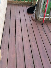 deck cleaning and staining Toronto