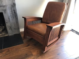 Vintage Wooden rocking chair