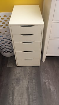 White ikea 4-drawer chest Edmonton, T6T 0C4