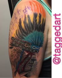 $700 FLAT DAY RATE. TATTOO ARTIST IN YALETOWN Vancouver