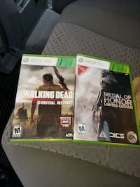 Xbox 360 video games all in great condition and wo Clarksville