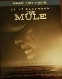 The Mule (blu ray, dvd, and digital) Concord, 94520