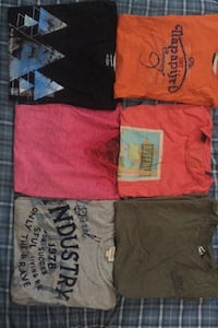 All 6 tshirts for sale Vaughan, L6A