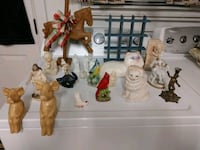 21 Old Figurines and a Shelf Smithland, 42081