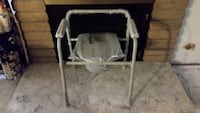 Medical Folding Beside Commode with Bucket and Splash Guard Dana Point, 92629