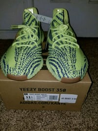 Adidas Yeezy Boost 350 with box *Negotiable price* 51 mi