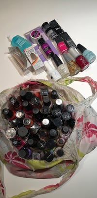 45 nail polishes and other accessories Toronto, M4Y 1T5