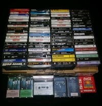 Vintage Classic Rock and Roll Cassettes  Chesapeake, 23320