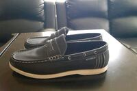 SIZE 10 1/2 ROC A WEAR SLIDE ON CASUAL SHOES BLACK Silver Spring, 20901