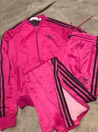 Adidas bomber jacket with pants