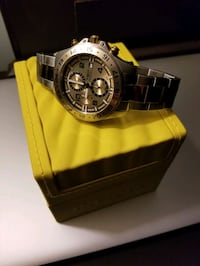 large chronograph watch