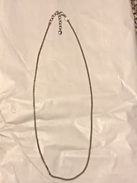 "Sterling silver necklace ( 18"")  San Antonio, 78250"
