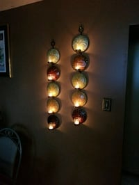 Candle holders (wall hung, tealights)