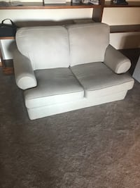 Love seat and full couch set