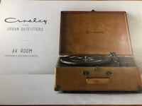 New Crosley Record Player Woodbridge, 22191