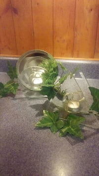Beveled Glass Candle Holders Fargo, 58103
