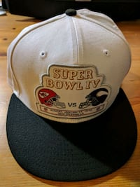 Superbowl hat brand new with stickers Vancouver, V5X 3T9