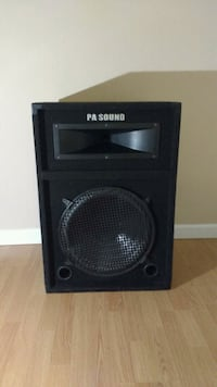 black and gray subwoofer speaker Columbus, 43228
