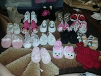 girl's assorted-color pair of shoes lot Mount Pleasant, 75455