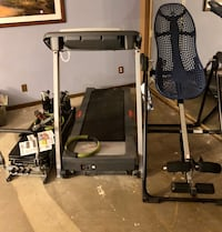 3 exercise pieces-- treadmill, inversion table and pilates  Las Vegas, 89149
