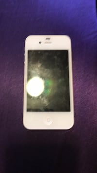 white iPhone 4 with case Anchorage, 99504