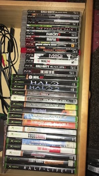 PS3 games and Xbox games Edmonton, T6V 1E1