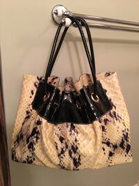 Made in Italy Soft python print leather. Cute and spacious . Cary, 60013