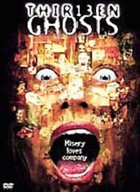 Pls Read ad for storyline ** Thirteen Ghosts DVD Hamilton