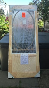 "Screen door 82"" high by 34"" wide.  Duncan, V9L 4G5"