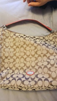 Real coach bag.Used only once  Vaughan, L4H 1M6