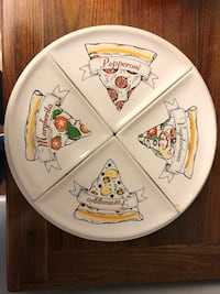 Pizza Plate and Serving Plates — 5 Pieces Woodbridge, 22191
