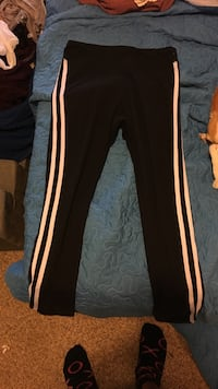 black and white Adidas track pants Somis, 93066