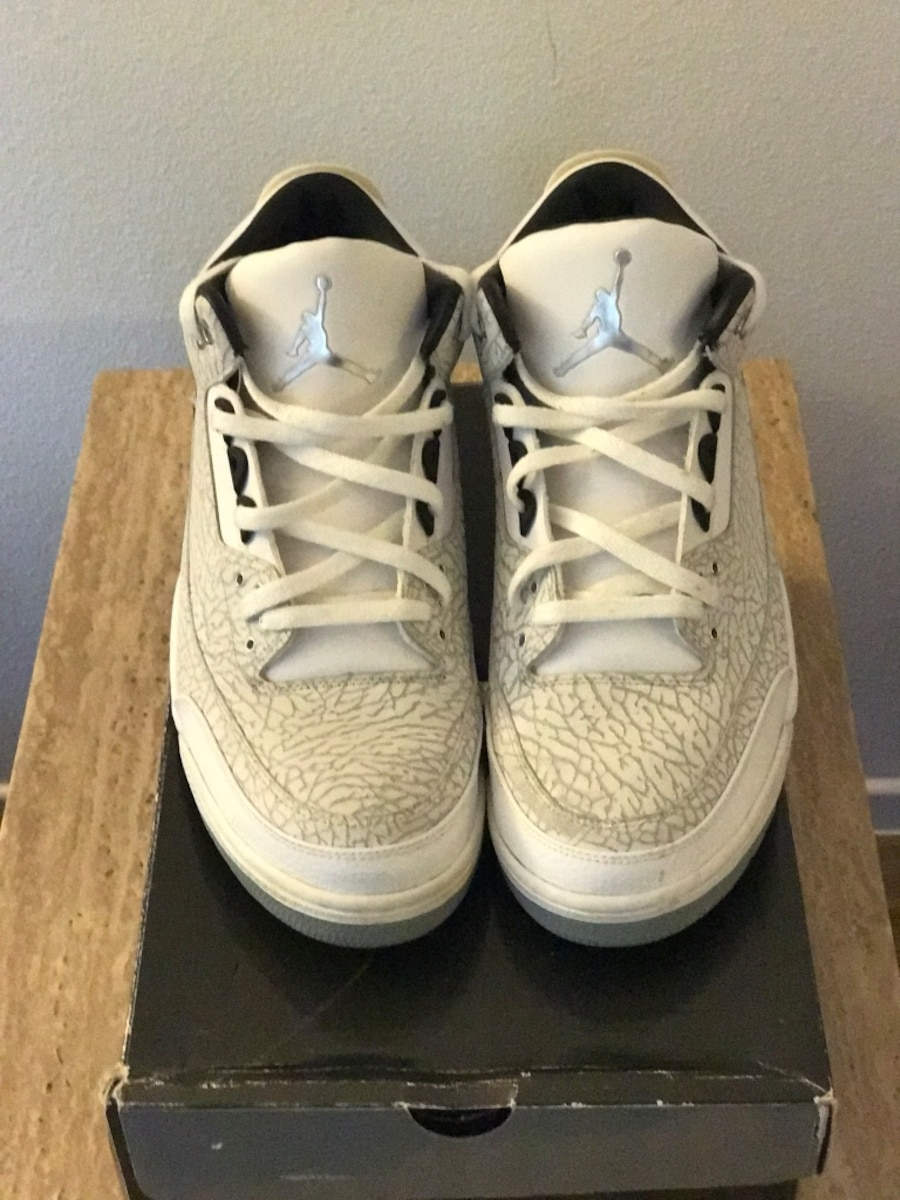 Retro Jordan 3's both pair for price listed size 13 - United States