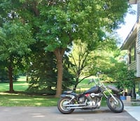 black and gray cruiser motorcycle St. Louis Park, 55426