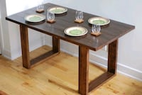 (Sale) New made to order dining table Montréal, H4A 3J1